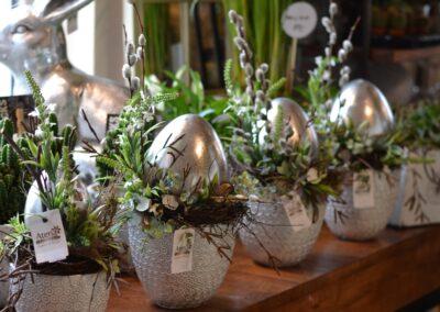 Realizacja - Kwiaciarnia Atena w Luboniu, Traugutta 24A, dekoracja świąteczna, Wielkanoc