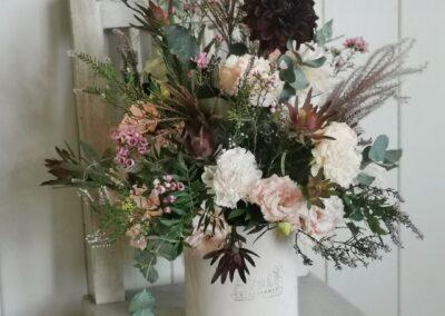 Flower box - Kwiaciarnia Atena w Luboniu, Traugutta 24A, bukiety, kompozycje i dekoracje, flowerbox ze świeżych kwiatów