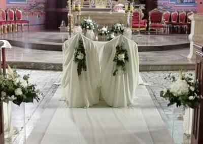 Realizacja ślub - Kwiaciarnia Atena w Luboniu, Traugutta 24A, bukiety, kompozycje i dekoracja ślubne