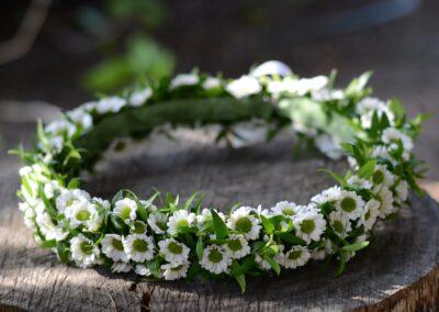 WIANEK - Kwiaciarnia Atena w Luboniu, Traugutta 24A, wianki komunijne, ślubne, ze świeżych kwiatów